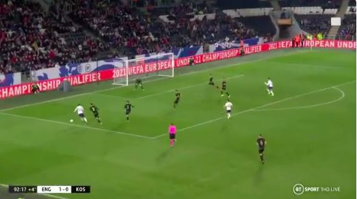 (Video) Superb Rhian Brewster play leads to Foden's England U21 goal