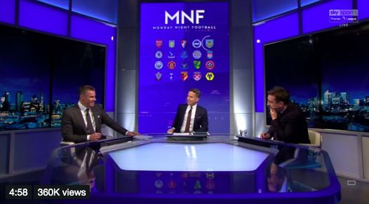 (Video) Neville & Carra savage each other over defensive mistakes