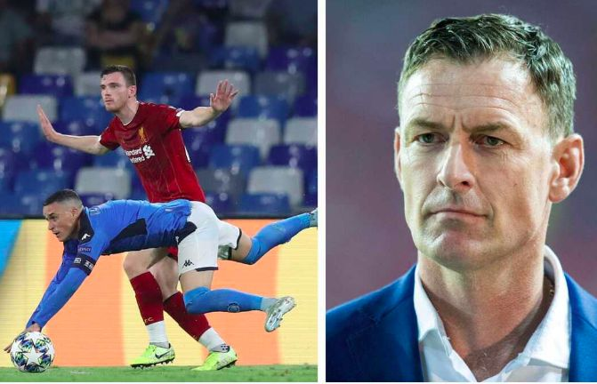 Chris Sutton savages 'cheating' Napoli in serious ref rant