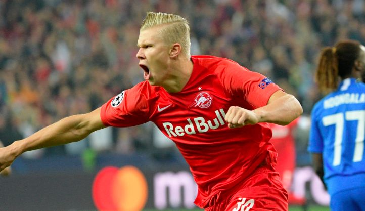 The downright ludicrous stats Salzburg forward Erling Haaland is heading to Anfield with