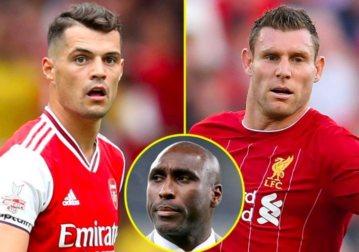 Sol Campbell thinks Arsenal need a James Milner, who has 'The Ray Parlour attitude'