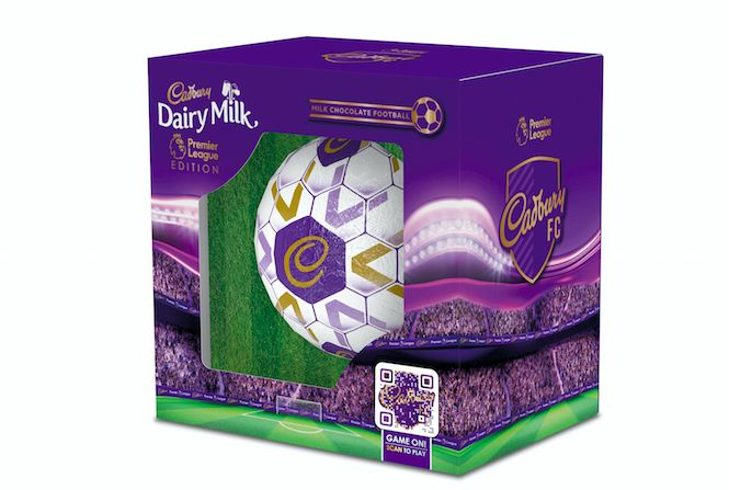 Cadbury unveil exciting new football shaped Dairy Milk products