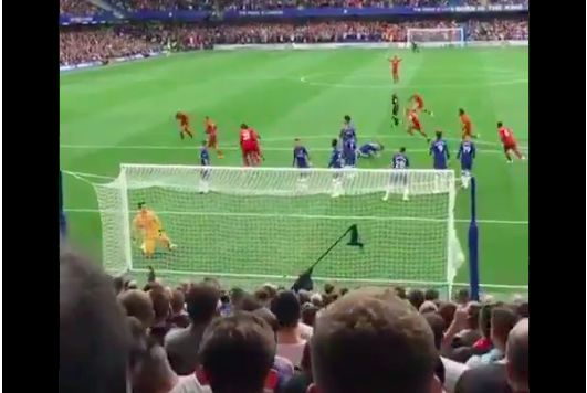 (Video) Trent's goal from the Chelsea stand is even better