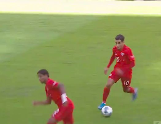 (Video) Coutinho tears it up for Bayern after being freed from Barca's shackles
