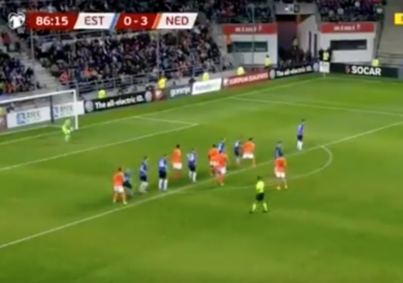 (Video) Wijnaldum continues Netherlands hot streak with headed goal – just beating Van Dijk to the punch
