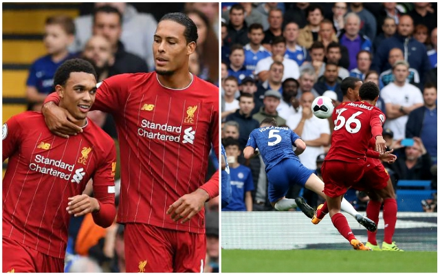 Trent Alexander-Arnold explains the thought-process behind his stunning free-kick