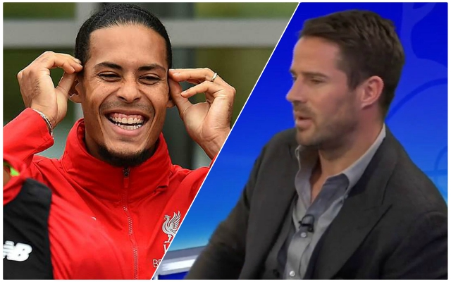 Jamie Redknapp makes ridiculous statement about the Reds and Van Dijk – before making them title favourites