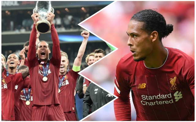 The hefty bonus Virgil van Dijk pocketed last season as a just reward for his scintillating performances