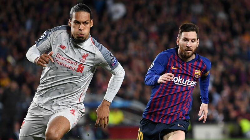 Lionel Messi explains why Virgil van Dijk is so difficult to play against