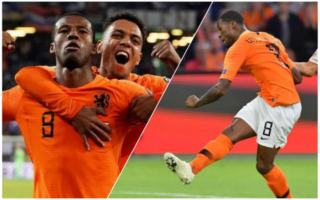 (Video) Gini Wijnaldum's silky highlights reel from Germany vs. Netherlands is simply delightful