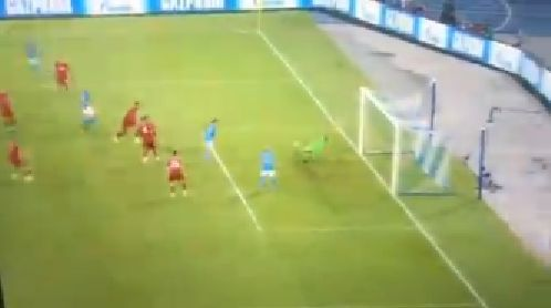 (Video) Adrian pulls off double-save to deny Napoli opening goal against Liverpool