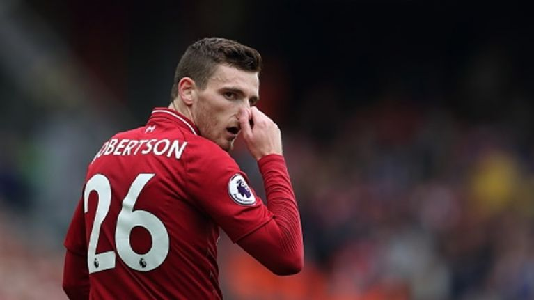 Journalist reveals Andy Robertson's frustration with Bobby Duncan during Liverpool training