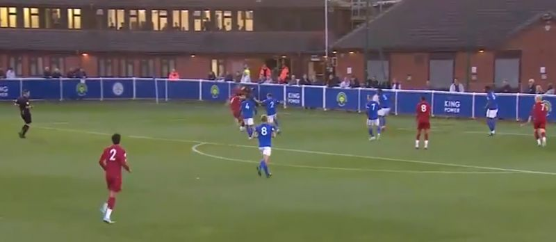 (Video) Curtis Jones shows off tidy footwork before superb goal for LFC U23s