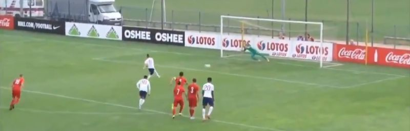 (Video) LFC's Harvey Elliott converts penalty as England U17s win Syrenka Cup against Poland