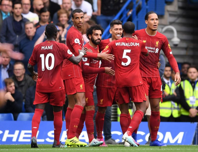 (Video) Gini Wijnaldum volleys home from the edge of the area to fire the Reds in front at last