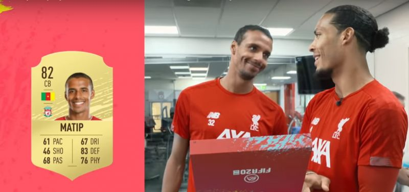 (Video) Liverpool players react to their FIFA 20 ratings