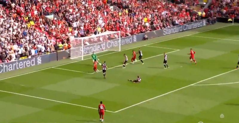 (Video) Salah scores LFC's third v. Newcastle via brilliant Firmino assist