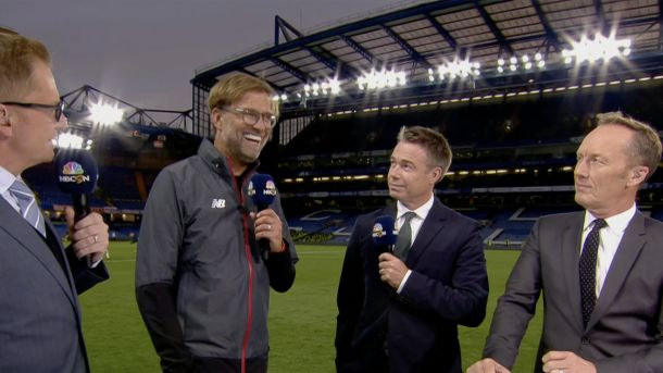 (Video) Jurgen Klopp's unfiltered post-match interview is absolutely classic