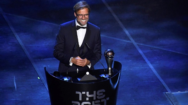 (Video) Jurgen Klopp's acceptance speech is as incredible as you'd think