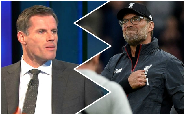 Carra names the massive points total the Reds will need to hit in order to win the Premier League