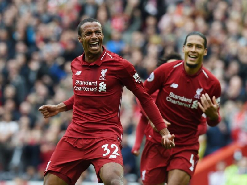 Joel Matip confirms he's fit to play against Manchester United