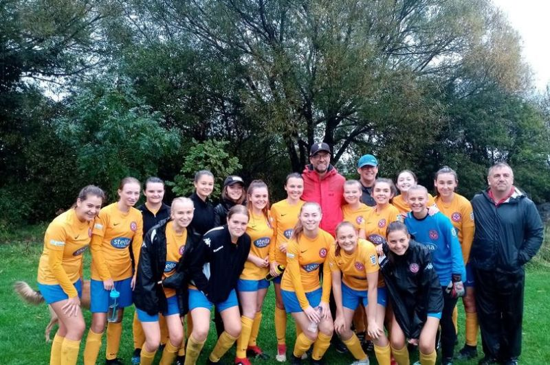Shock as LFC boss Jurgen Klopp turns up at Ashton Town Ladies' match