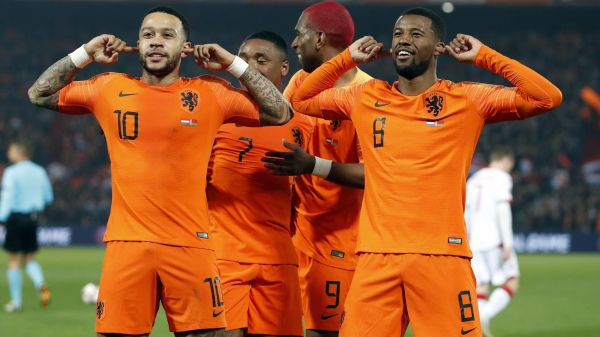 (Video) Gini Wijnaldum's absolute screamer for the Netherlands is a must-watch