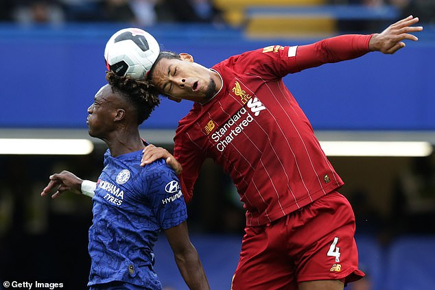 Tammy Abraham on 'Beast' Van Dijk – 'He's quite annoying – just leave me alone'
