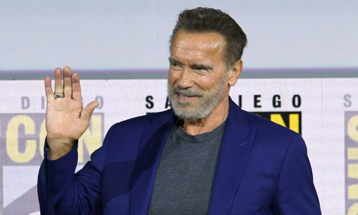 Arnold Schwarzenegger confirms he's a Liverpool fan