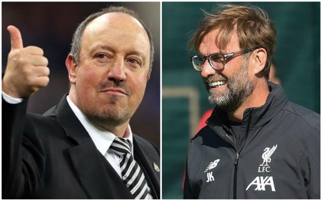 Rafa Benitez explains the two title race advantages the Reds have over Manchester City