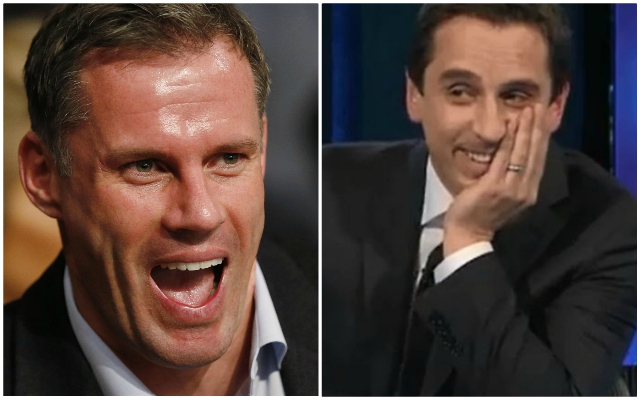 Gary Neville makes desperate attempt to pile pressure on the Reds