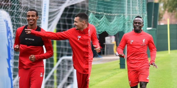 Mane & Matip miss training ahead of LFC's Champions League clash with RB Salzburg