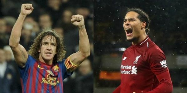 """One of the best"" – Carles Puyol gushes over Liverpool's Virgil van Dijk"