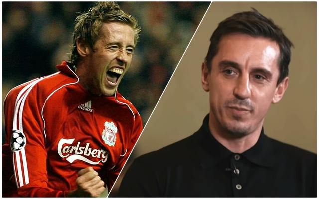 Peter Crouch admits ex-Manchester United man Gary Neville 'p****d him off' more than anyone else