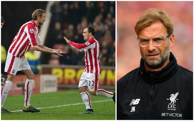 Xherdan Shaqiri's former teammate Peter Crouch claims Jurgen Klopp can't trust the Swiss international