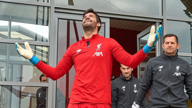 Great news: Alisson should be back from injury next week, reports reliable journalist