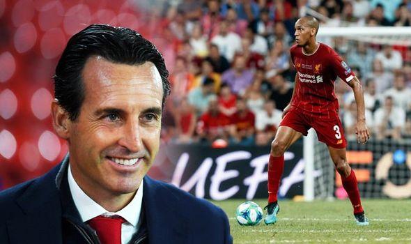 Emery makes Arsenal/Fabinho transfer revelation