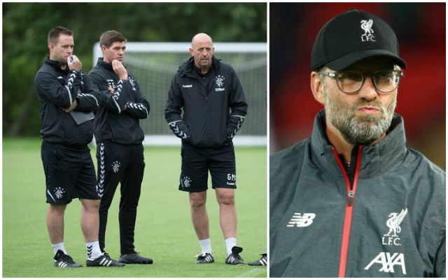 Steven Gerrard's Rangers assistant speaks out on Reds links as Jurgen Klopp replacement rumours continue