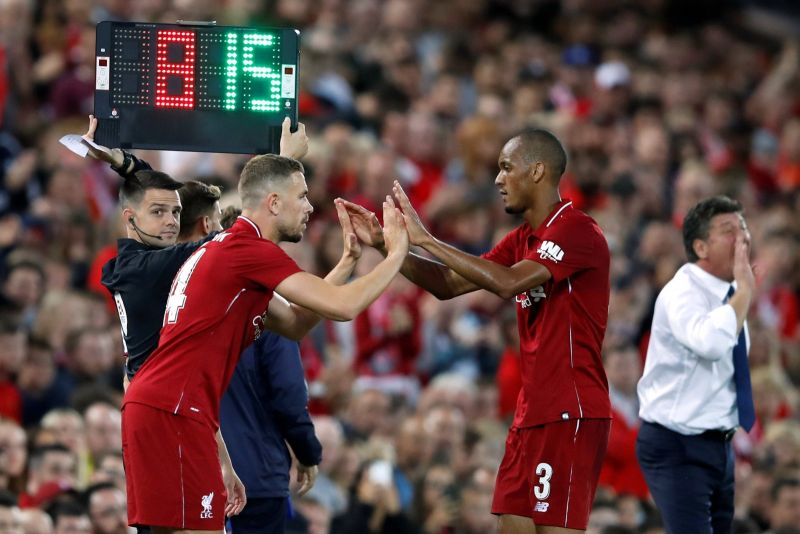 Liverpool predicted XI v. Wolves – Fabinho could make first start in months