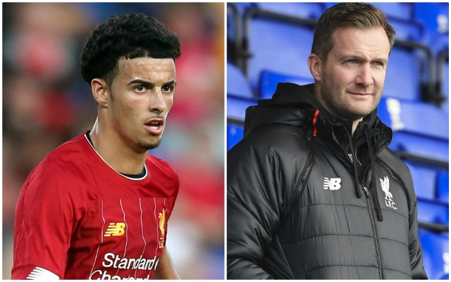 The two Reds senior pros that Curtis Jones reminds Academy boss Alex Inglethorpe of