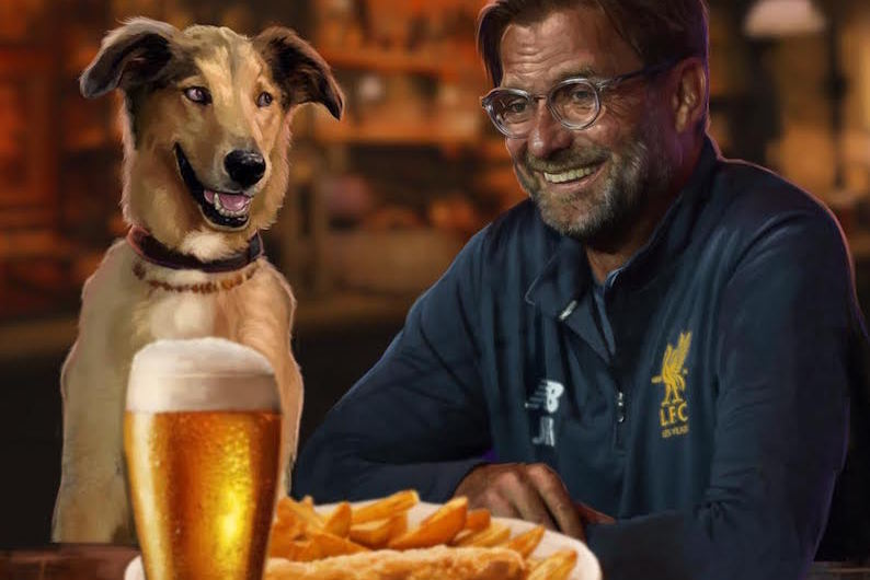 United fan pens letter admitting he adores Klopp & is 'jealous' of LFC manager's dog who gets 'tummy-rubs' off Jurgen