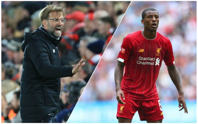 Wijnaldum contract situation explained by Maddock: Money not issue, but Gini's age is…