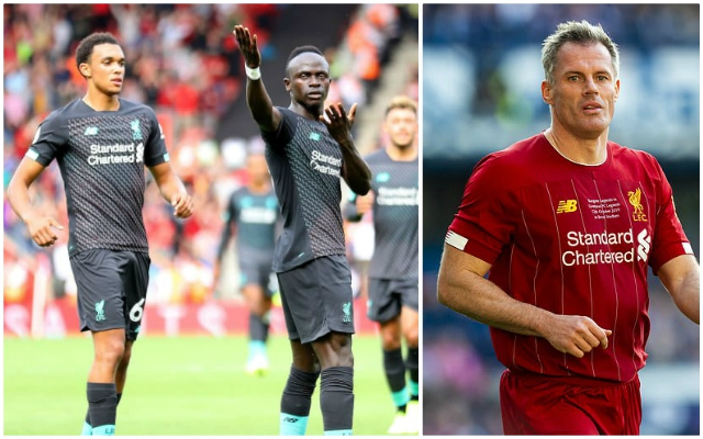 """""""Absolutely love him!"""": Jamie Carragher names his favourite Reds player"""