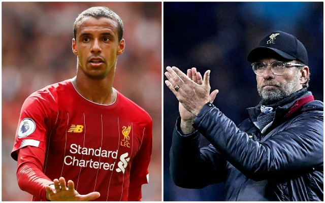 Coach explains private convo with Matip about Klopp: 'He says everyone is ready to march like soldiers'