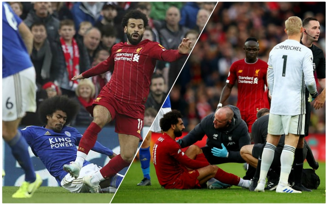 Massive news: Reds provide update on Mo Salah injury following Leicester City Premier League clash