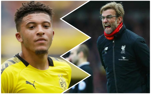 Reported Reds target Jadon Sancho dropped by Borussia Dortmund ahead of crucial clash with Gladbach