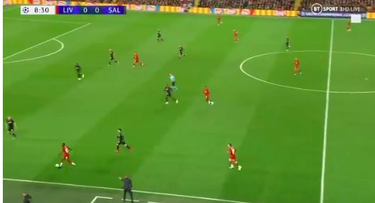 (Video) Sadio Mane wondergoal: No.10 skins three, plays one-two with Firmino & bags