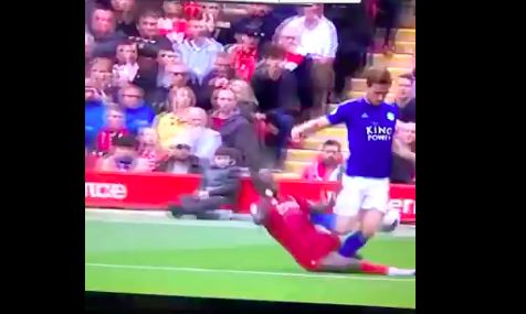 (Video) Sadio Mane makes two epic (but risky) covering tackles v Leicester