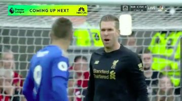 (Video) No lip-reader required as Adrian tells Vardy what to do…