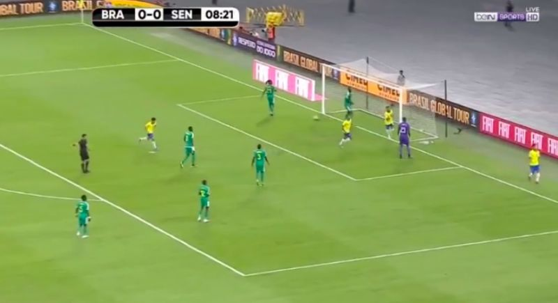 (Video) Firmino Brazil goal: Bobby finishes with beautiful dink v Senegal
